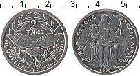 Продать Монеты Новая Каледония 2 франка 2003 Алюминий