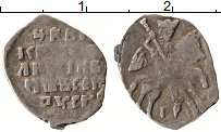 Изображение Монеты 1534 – 1584 Иван IV Грозный 1 копейка 0 Серебро VF ПСКОВ  ГР