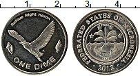 Продать Монеты Микронезия 1 дайм 2012 Медно-никель