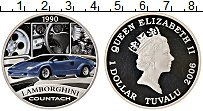Изображение Монеты Тувалу 1 доллар 2006 Серебро Proof