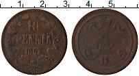 Изображение Монеты Финляндия 10 пенни 1867 Медь VF