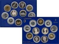 Изображение Подарочные монеты Италия Выпуск монет 1988 года 1988  Proof