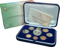 Изображение Подарочные монеты Италия Евронабор 2006 года 2006  Proof