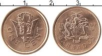 Изображение Монеты Барбадос 1 цент 2009 Медь UNC-