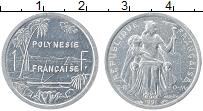 Изображение Монеты Полинезия 1 франк 1991 Алюминий UNC-