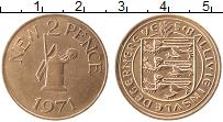Изображение Монеты Гернси 2 пенса 1971 Медь XF