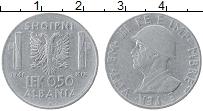 Изображение Монеты Албания 0,50 лек 1941 Железо XF