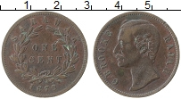 Продать Монеты Саравак 1 цент 1880 Медь