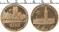 Изображение Монеты Швеция 10 крон 1979 Медь UNC- Городские деньги