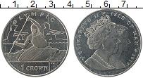 Изображение Монеты Остров Мэн 1 крона 2012 Медно-никель UNC Елизавета II. Олимпи