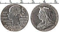 Изображение Монеты Великобритания Медаль 1897 Серебро XF 60 лет Правления Кор