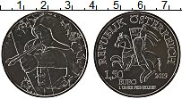 Продать Монеты Австрия 1 1/2 евро 2019 Серебро