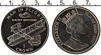 Изображение Монеты Остров Мэн 1 крона 1995 Медно-никель UNC-