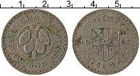 Изображение Монеты Гана 20 песев 1967 Медно-никель VF Какао бобы