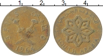 Изображение Монеты Южная Аравия 5 филс 1964 Медь XF