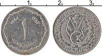 Изображение Монеты Алжир 1 сантим 1964 Алюминий VF Герб