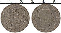 Изображение Монеты Сьерра-Леоне 20 центов 1964 Медно-никель VF