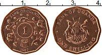 Изображение Монеты Уганда 1 шиллинг 1987 Медь UNC-