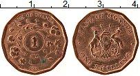 Изображение Монеты Уганда 1 шиллинг 1987 Медь XF Герб