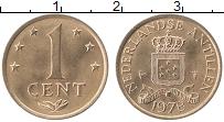 Изображение Монеты Антильские острова 1 цент 1978 Медь XF Герб