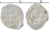 Изображение Монеты 1534 – 1584 Иван IV Грозный 1 копейка 0 Серебро VF НОВГОРОД   Я ДМ