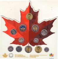 Изображение Подарочные монеты Канада 150 лет Канаде + годовой набор 2017  UNC