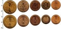 Изображение Наборы монет СНГ Казахстан Казахстан 1993 1993 Латунь XF