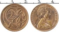 Изображение Монеты Австралия 2 цента 1984 Бронза XF