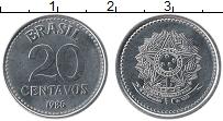 Изображение Монеты Бразилия 20 сентаво 1986 Медно-никель UNC-