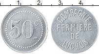 Изображение Монеты Франция 50 сантим 0 Алюминий UNC- Баньер-де-Люшон. Фер
