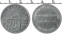 Изображение Монеты Франция 20 сантим 0 Медно-никель XF