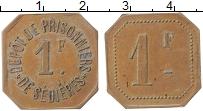Изображение Монеты Франция 1 франк 0 Медь XF+