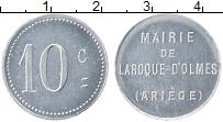 Изображение Монеты Франция 10 сантим 0 Алюминий UNC- Ларок-Д,Ольм. Мэрия.