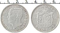 Изображение Монеты Румыния 500 лей 1944 Серебро XF+ Михай I