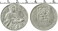 Продать Монеты Чехословакия 100 крон 1990 Серебро