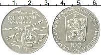 Продать Монеты Чехословакия 100 крон 1989 Серебро