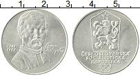 Изображение Монеты Чехословакия 100 крон 1983 Серебро UNC- 100 лет со дня смерт