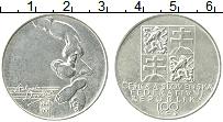 Продать Монеты Чехословакия 100 крон 1991 Серебро