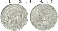 Продать Монеты Чехословакия 50 крон 1990 Серебро