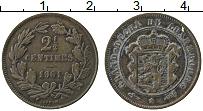 Изображение Монеты Люксембург 2 1/2 сантима 1901 Медь VF