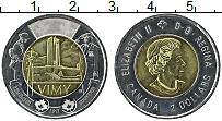 Изображение Монеты Канада 2 доллара 2017 Биметалл UNC-