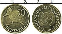 Изображение Монеты Мозамбик 50 сентаво 2006 Латунь UNC-