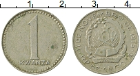 Изображение Монеты Ангола 1 кванза 1975 Медно-никель VF Герб