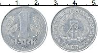 Изображение Монеты ГДР 1 марка 1977 Алюминий XF А