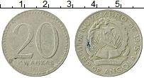 Изображение Монеты Ангола 20 кванза 1978 Медно-никель VF Герб