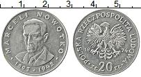 Изображение Монеты Польша 20 злотых 1974 Медно-никель XF Марцелий Новотко