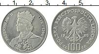 Изображение Монеты Польша 100 злотых 1985 Медно-никель UNC- Пшемыслав II