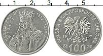 Изображение Монеты Польша 100 злотых 1987 Медно-никель UNC- Казимир III Великий