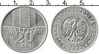 Изображение Монеты Польша 20 злотых 1973 Медно-никель XF Сельское хозяйство