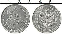Изображение Монеты Польша 20000 злотых 1993 Медно-никель XF